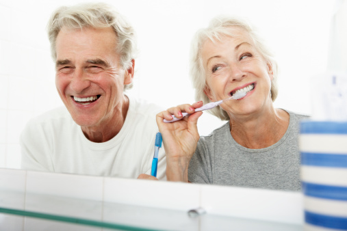 Healthy and happy patients of Gary L. Glasband, DDS Dentistry